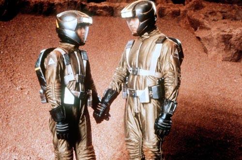 Кадр из фильма «Вспомнить все». И Шуссет, и Шварценеггер считали фильм без марсианских сцен неполноценным