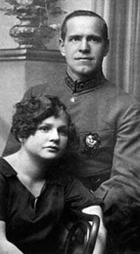 Жуков и Александра, 1920-е годы. Фото: wikimedia.org
