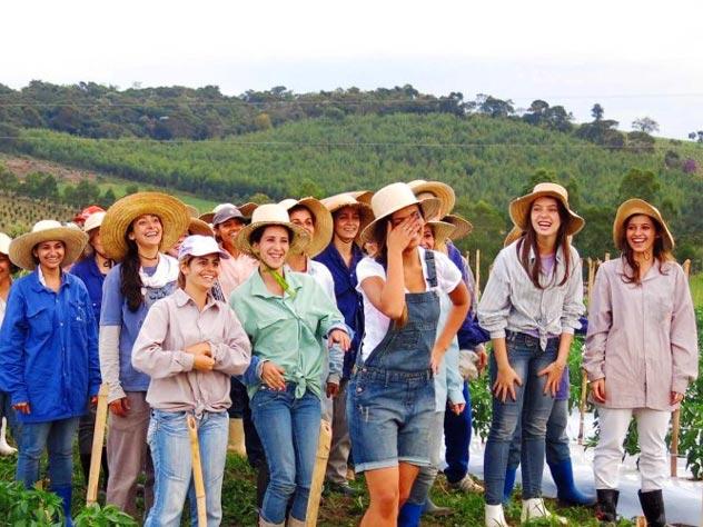 Женщинам в Нойве де Кордейро и без мужчин весело