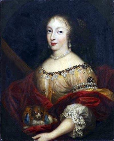 Пьер Миньяр. Генриетта Английская, герцогиня Орлеанская