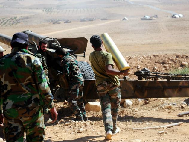 Сирийцы при участии ВКС Российской Федерации разгромилиИГ вдолине Евфрата