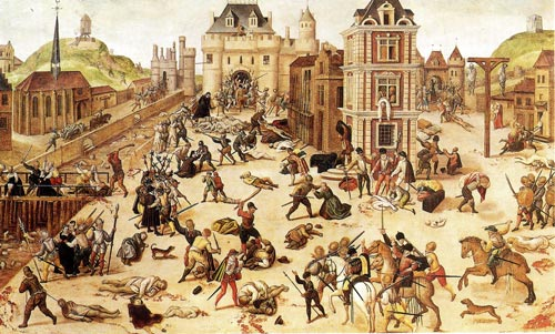 «Убийства в Варфоломеевскую ночь». Картина Франсуа Дюбуа