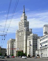 Здание на площади Красных Ворот. wikimedia