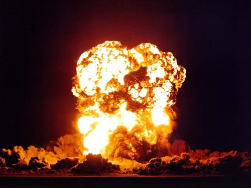 Взрыв бомбы с ласковым названием Smoky («Дымок»). wikimedia / National Nuclear Security Administration