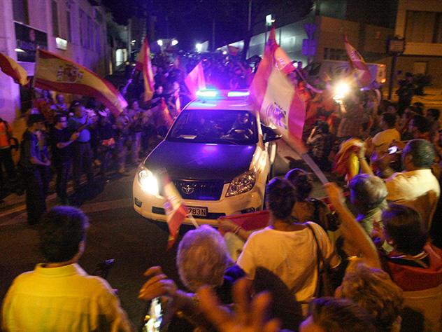 Трамп выступил против отделения Каталонии— Политика «невмешательства» США
