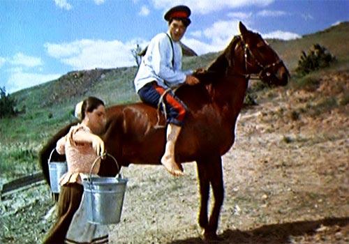 Кадр из фильма «Тихий Дон» (1957)