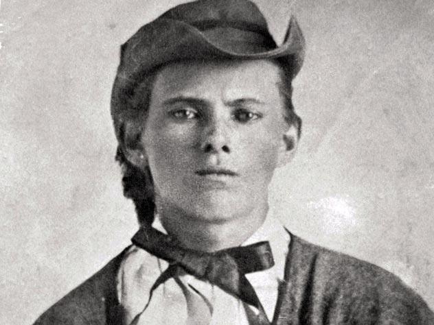 Джесси Джеймс в 17 лет