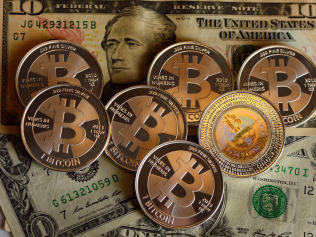 Курс биткоина впервый раз вистории превысил $5000