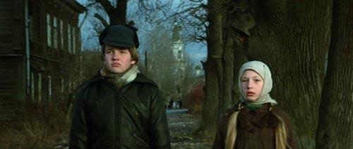 Дмитрий Егоров и Кристина Орбакайте в фильме «Чучело». 1983 год. Кадр из фильма