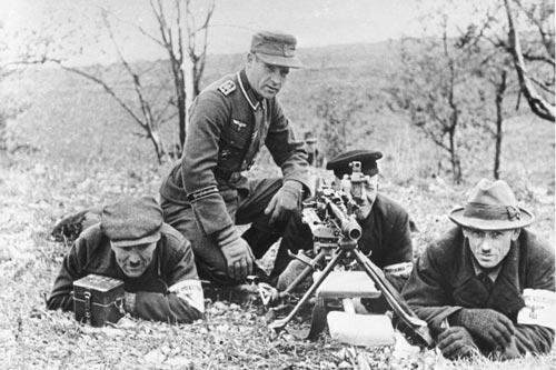 Подразделение немецкой мотопехоты, 1944 год. Wikimedia