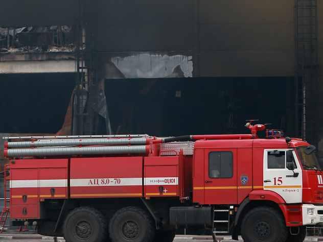 ВЧелябинске экстренно эвакуировали детей иработников из-за пожара вдетском саду