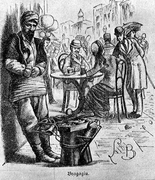 Турок, торгующий бозой (бузой). Источник: wikimedia.org