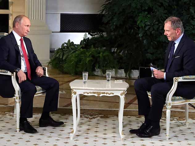 Владимир Путин дал интервью австрийскому телеканалу ORF
