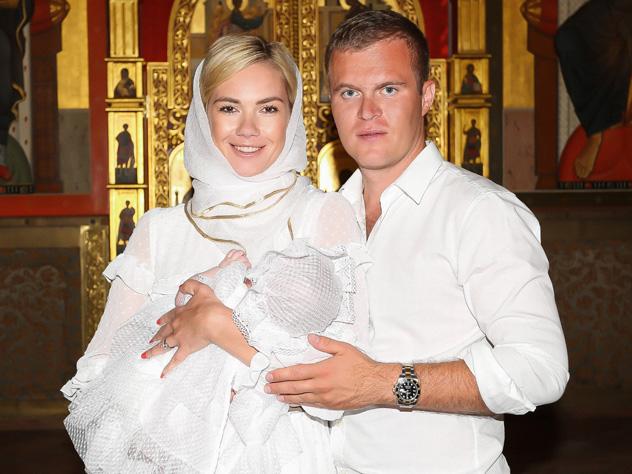 Анастасия Трегубова окрестила дочь
