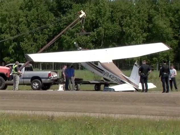 Над Аляской столкнулись два самолета