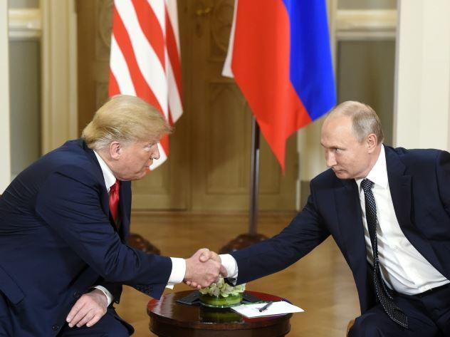 Встреча Путина и Трампа в Хельсинки