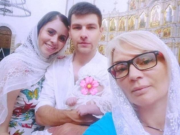 Участники «Дома-2» Ольга Рапунцель и Дмитрий Дмитриенко крестили дочь