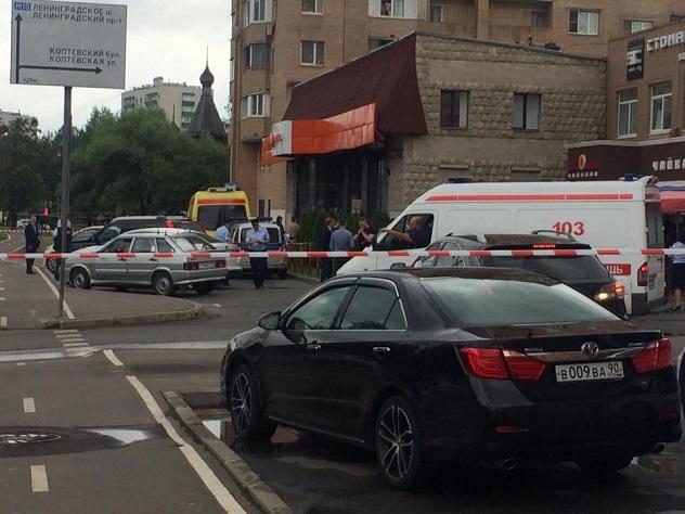 В московском магазине захватили заложников