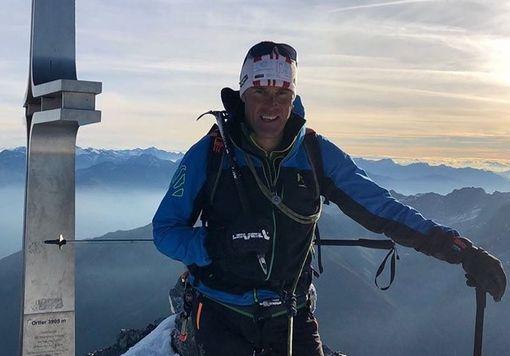 Спасшийся альпинист Марко Конфортола