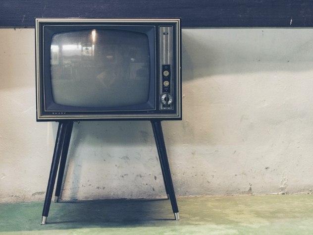 Ретро-телевизор фирмы «Sharp»