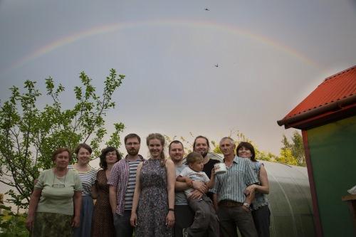 Команда проекта «Жить вместе» во время путешествия по Тверской области
