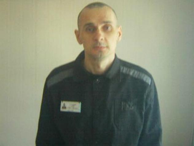 Олег Сенцов в колонии
