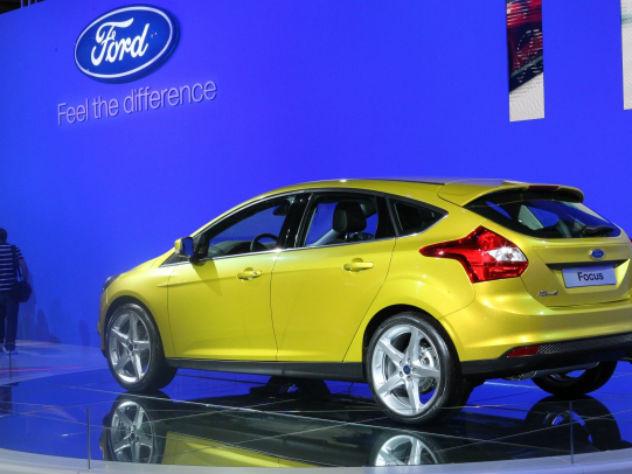 Форд фокус, самая популярная машина в россии