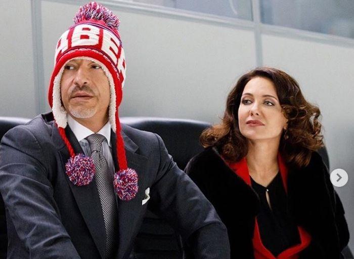 Федор Бондарчук и Екатерина Климова в роли Калинина и Каштановой