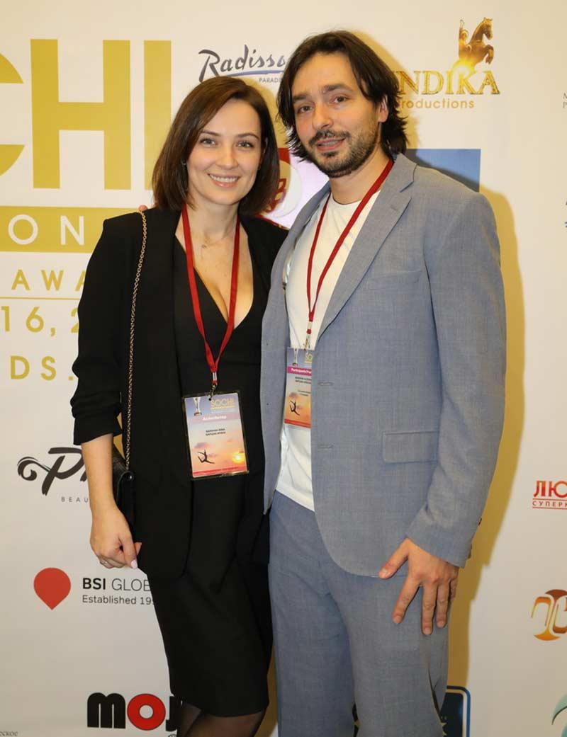 Александр Баршак с супругой