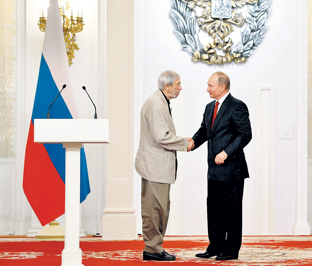 Этим летом президент наградил Артемьева орденом Александра Невского