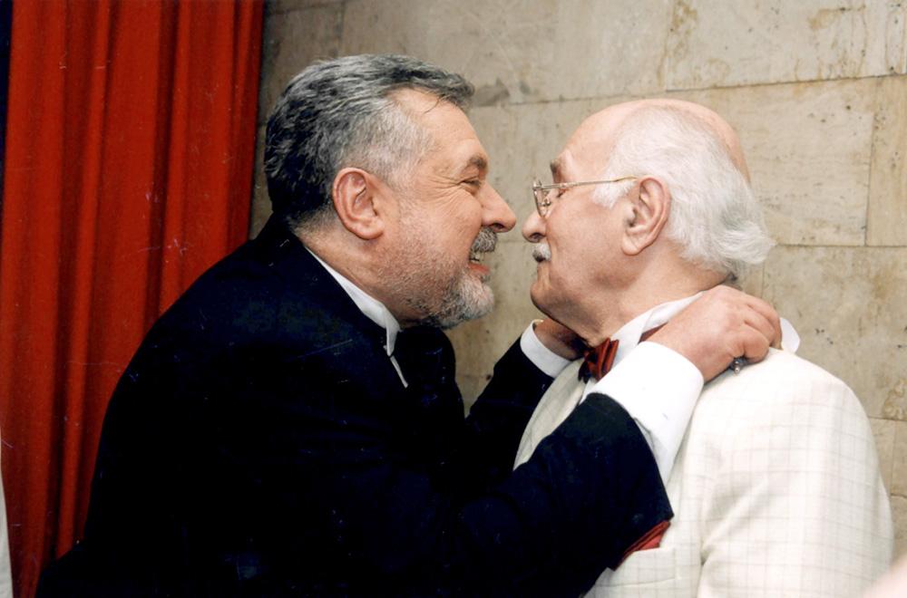 С Владимиром Зельдиным