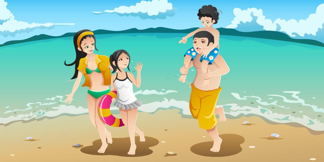 путешествие с детьми, море, отдых, отпуск
