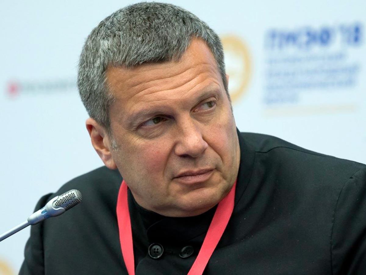 «Уберите отсюда нацистскую мразь»: Владимир Соловьев выгнал из студии экс-депутата Верховной рады Украины