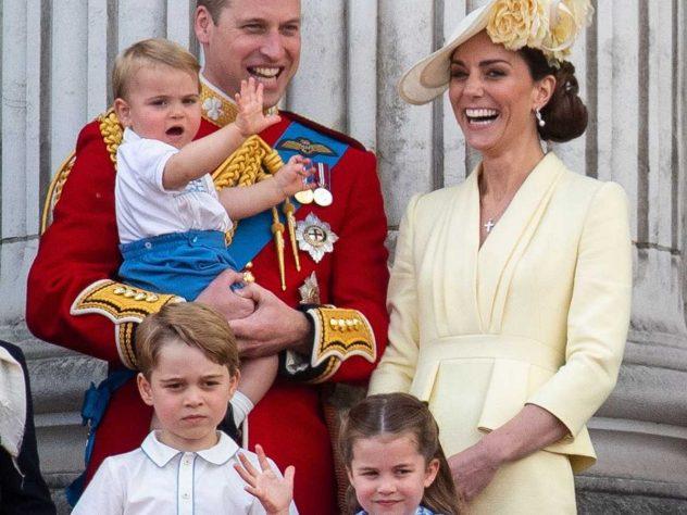 Кейт Миддлтон, принц Уильям и их дети
