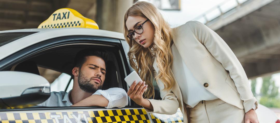 Цены на каршеринг и такси