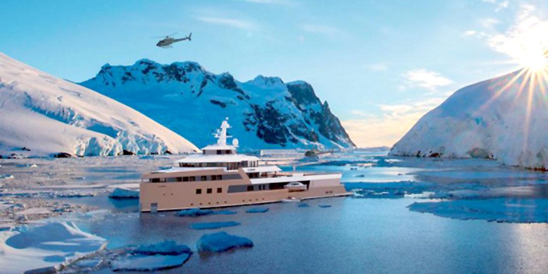 12 пассажиров смогут с комфортом поплавать на яхте бизнесмена среди льдов. Фото: Ladatcha.com