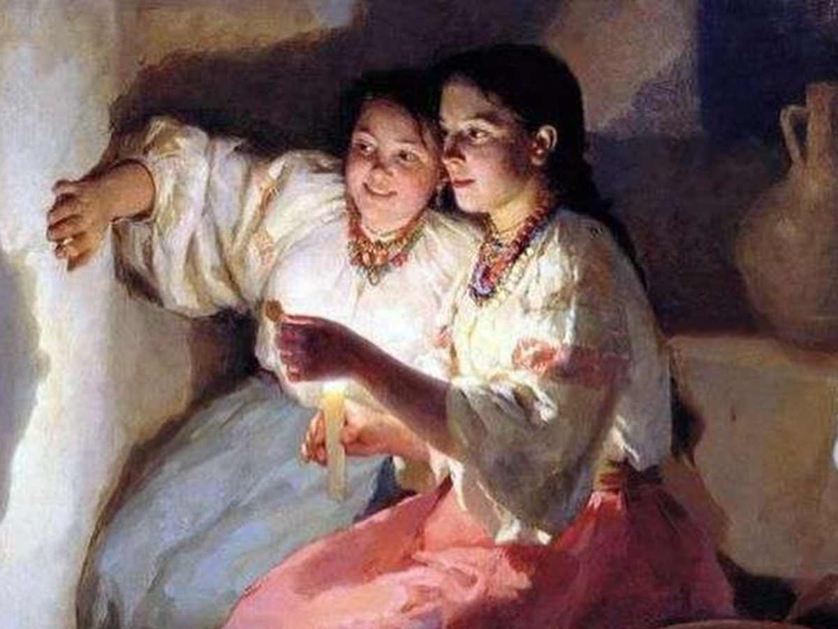 Святки: время молитв и гаданий